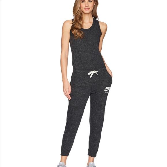 NIKE Vintage Gym Dark Grey Jumpsuit